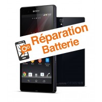 reparation batterie Sony Z