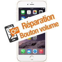 Réparation bouton volume iPhone 6s+