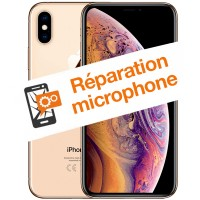 Réparation microphone iPhone XS