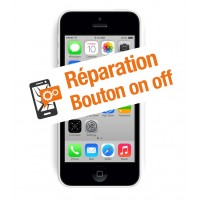 Réparation bouton on off iphone 5c