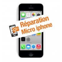 Réparation micro iphone 5c