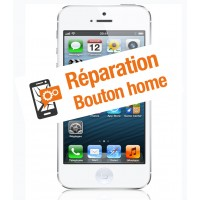 Réparation bouton home iphone 5