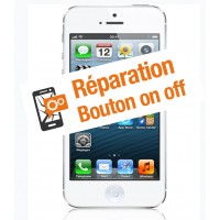 Réparation bouton on off iphone 5