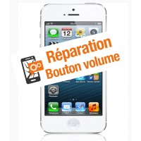 Réparation bouton volume iphone 5