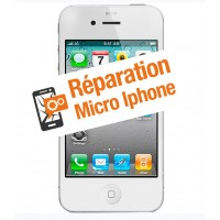 Réparation micro iphone 4