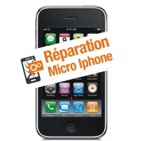 Réparation micro iphone 3gs