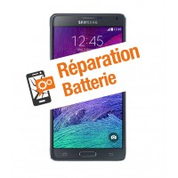 Réparation batterie galaxy note 4