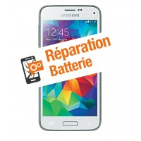 Réparation batterie galaxy S5 mini