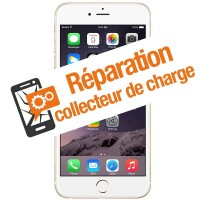 Réparation collecteur de charge Iphone 6+