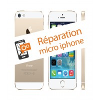 Réparation micro iphone SE