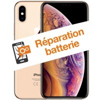 Réparation batterie iPhone XS