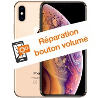 Réparation bouton volume iPhone XS Max