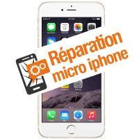 Réparation micro iphone 6+